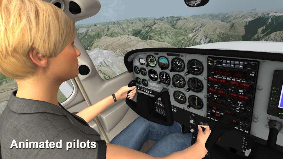 模拟航空飞行截图1