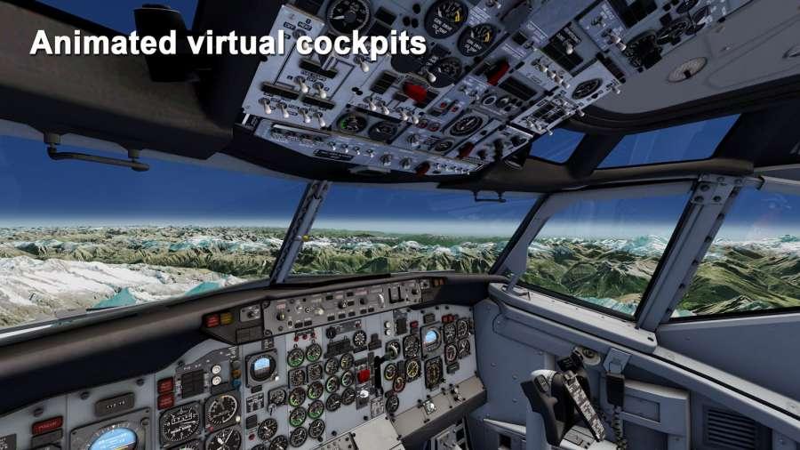 模拟航空飞行截图3