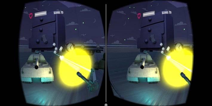 VR Tank Shooter截图0
