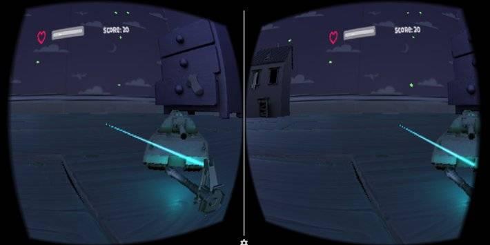 VR Tank Shooter截图1