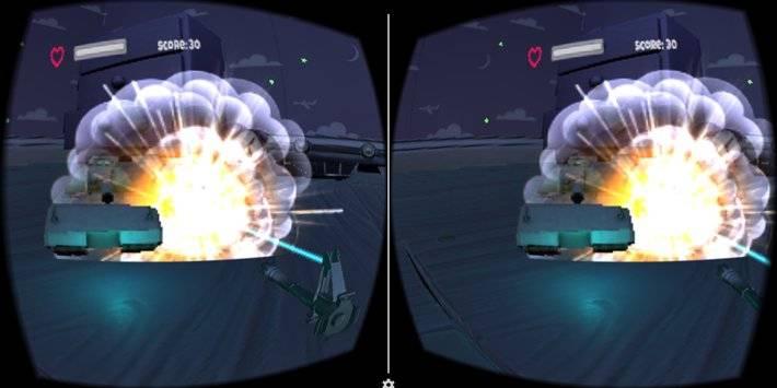 VR Tank Shooter截图2