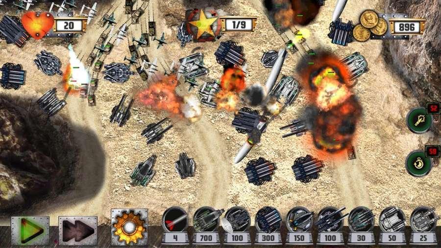 塔防:坦克战争截图1