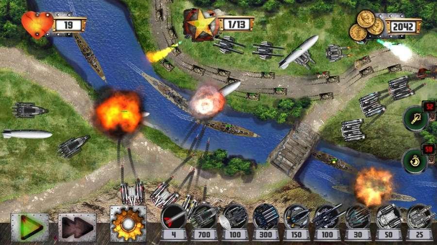 塔防:坦克战争截图3