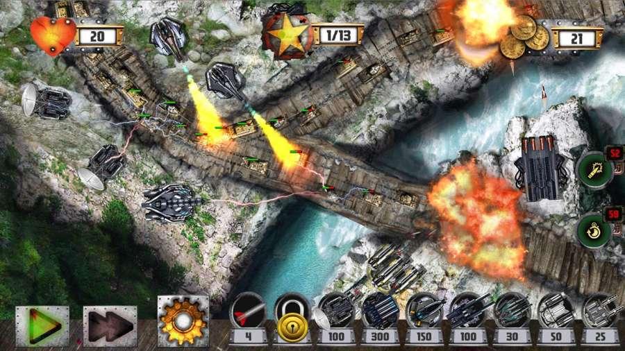 塔防:坦克战争截图4