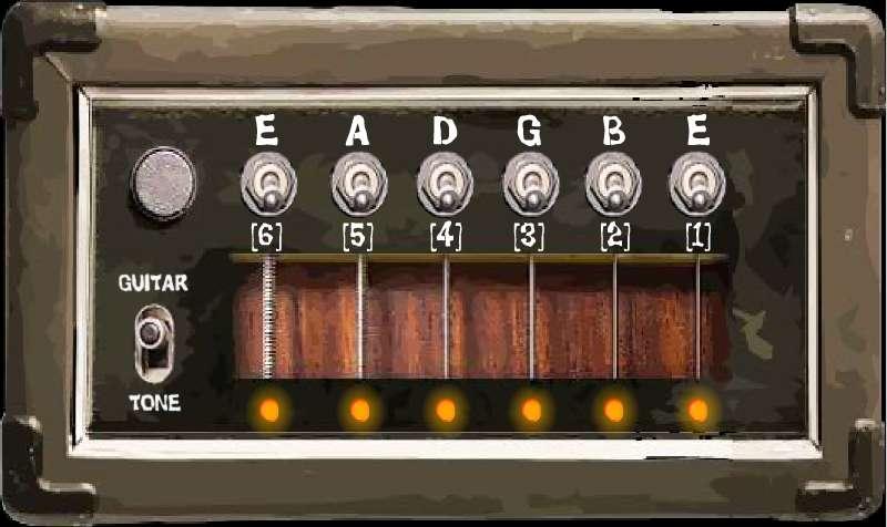 设置吉他调谐器截图3
