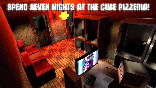 Nights at Cube Pizzeria 3D – 3截图10