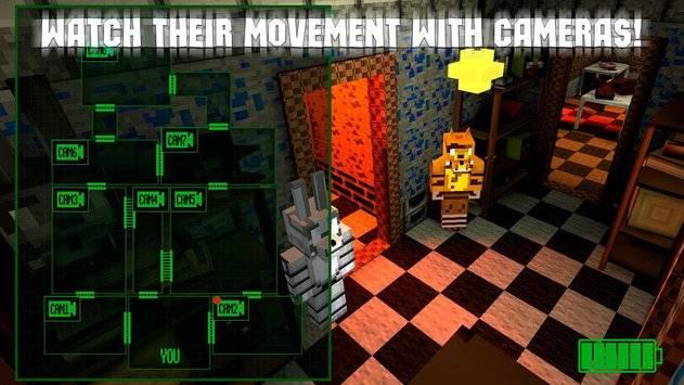 Nights at Cube Pizzeria 3D – 3截图2