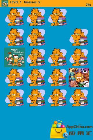 加菲猫记忆游戏