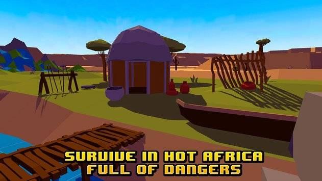 African Survival Simulator 3D截图0