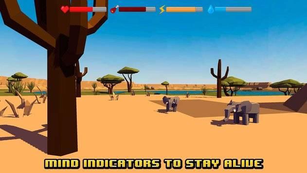 African Survival Simulator 3D截图8