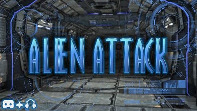Alien Attack VR - Cardboard截图0