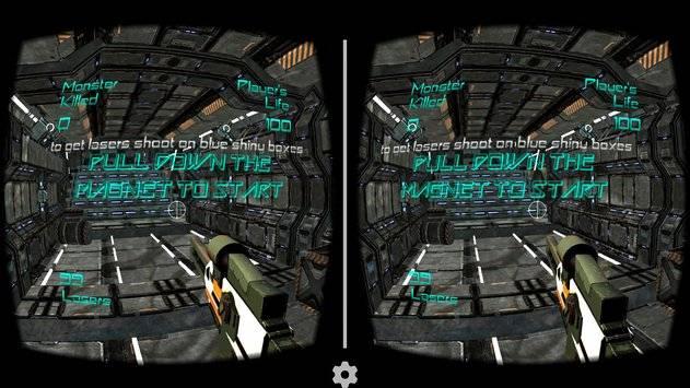 Alien Attack VR - Cardboard截图1