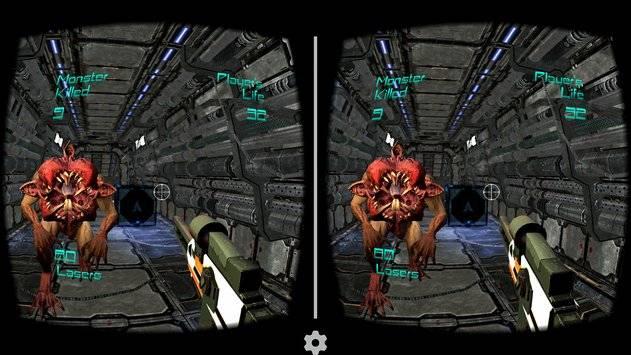 Alien Attack VR - Cardboard截图10