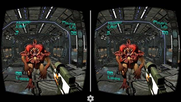 Alien Attack VR - Cardboard截图2