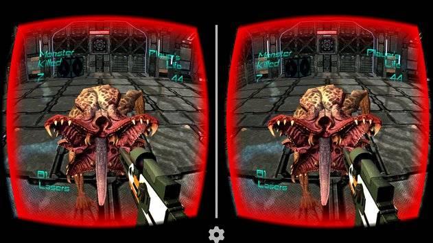 Alien Attack VR - Cardboard截图9