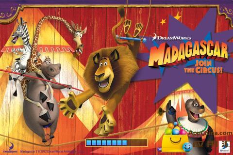 马达加斯加:加入马戏团