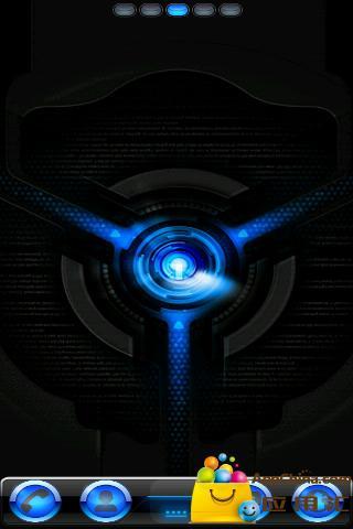 GO主题—亮蓝