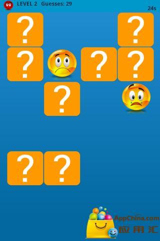 玩免費益智APP 下載笑脸记忆游戏 app不用錢 硬是要APP