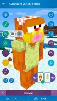 3D Skin Editor for Minecraft截图1