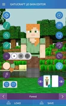 3D Skin Editor for Minecraft截图8