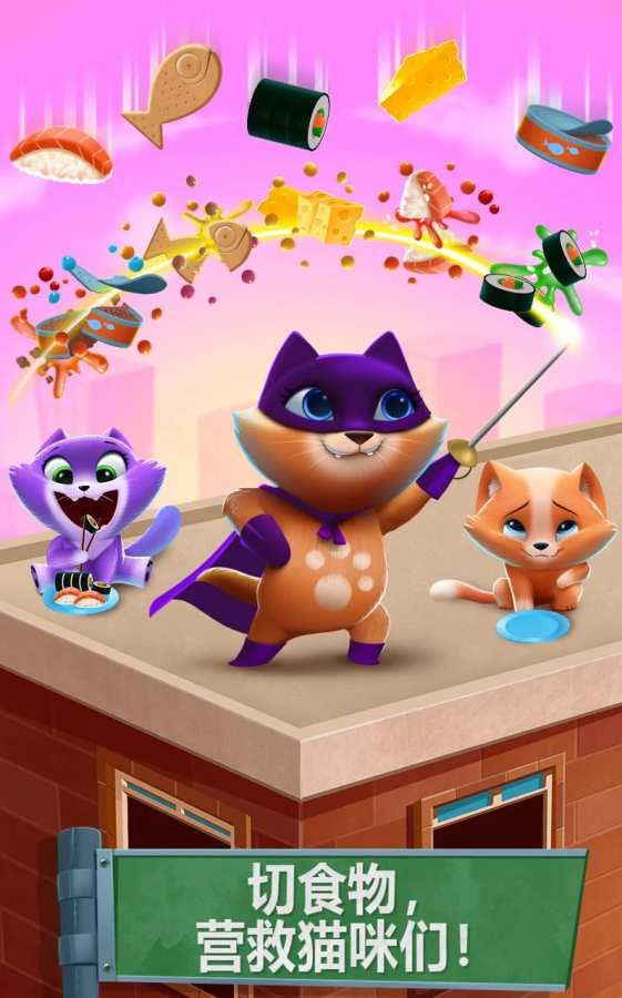 猫咪城市 - 猫粮忍者