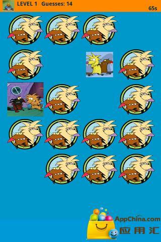 愤怒的海狸匹配游戏