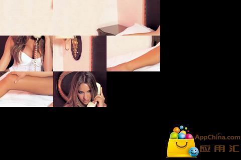 美女拼图游戏截图3