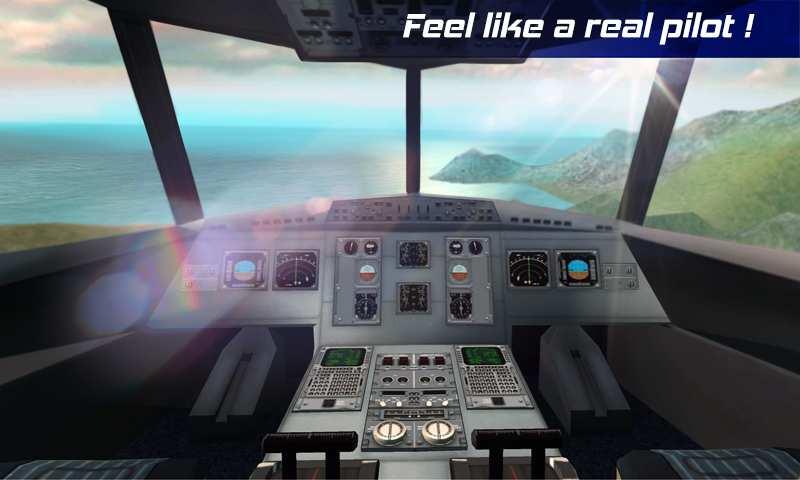 真实飞行模拟3D 截图1