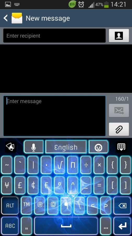 GO键盘蓝色发光截图5