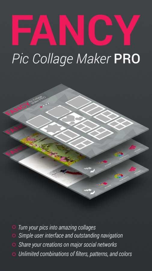 时尚和优雅拼贴制造商照片编辑器截图3