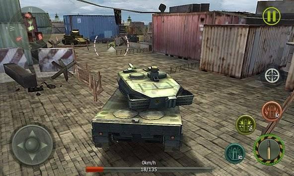Tank Strike 3D截图1