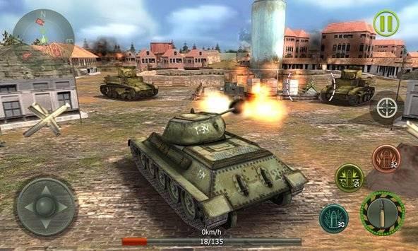 Tank Strike 3D截图10