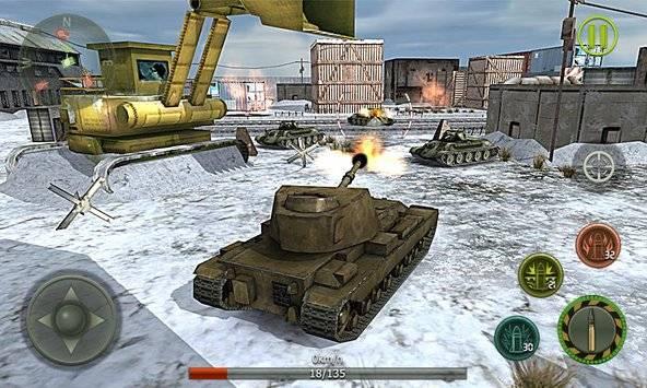 Tank Strike 3D截图2