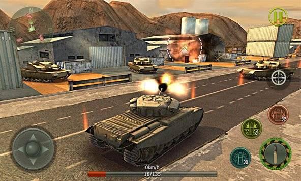 Tank Strike 3D截图8