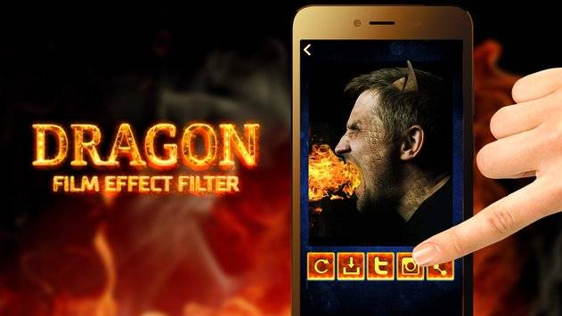 Dragon Film Effect Filter截图0