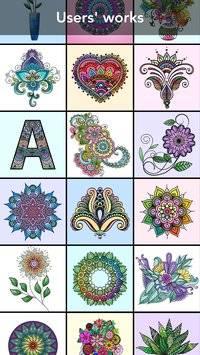Mandala Coloring Book截图0