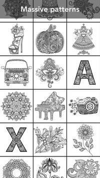 Mandala Coloring Book截图1