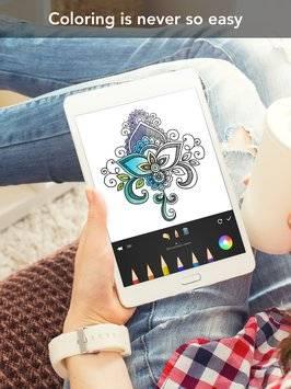 Mandala Coloring Book截图10