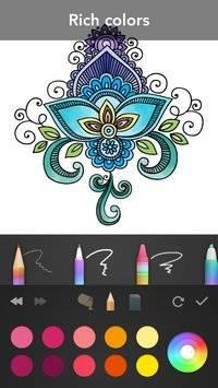 Mandala Coloring Book截图2