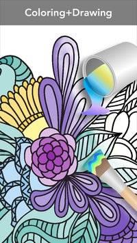 Mandala Coloring Book截图4