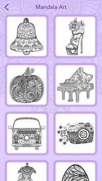 Mandala Coloring Book截图6
