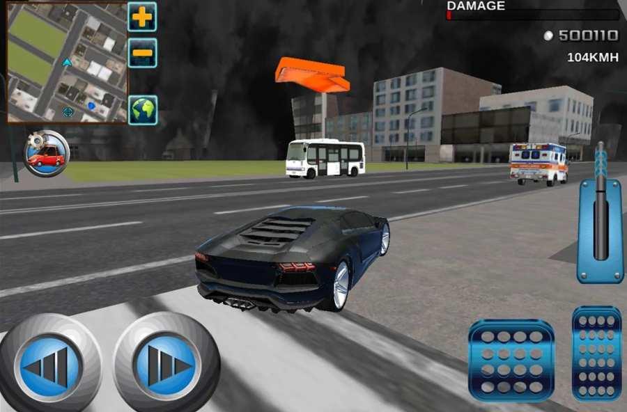疯狂司机3D:VIP市出租车