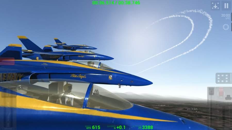 蓝色天使:特技飞行截图0