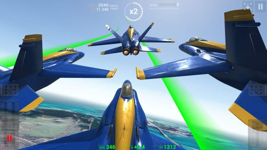 蓝色天使:特技飞行截图3