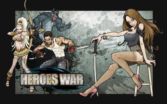 Heroes War™截图0