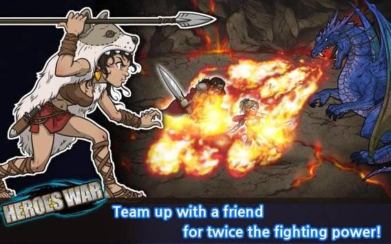 Heroes War™截图2