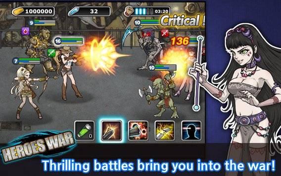 Heroes War™截图6