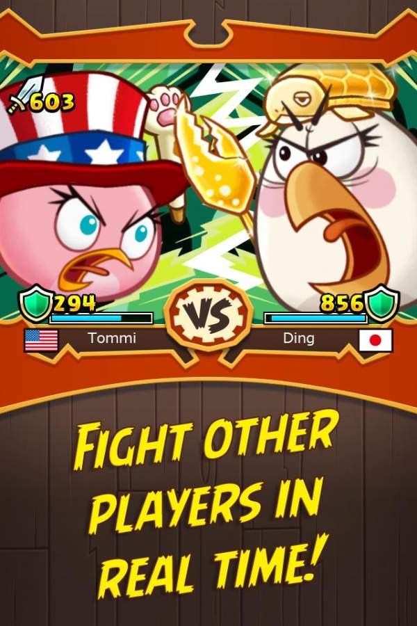 愤怒的小鸟战斗截图4