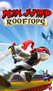NinJump Rooftops截图0