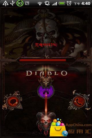 暗黑破坏神3之巫医手机主题锁屏